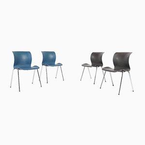 Ensemble Chairs by Alfred Homann for Fritz Hansen, Set of 4