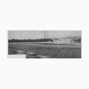 Inconnu, Fascisme, Education physique d'extérieur, Photo Vintage Noir & Blanc, 1934