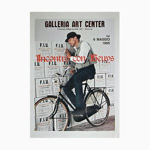 Unknown, Beuys Exhibition Meeting with Beuys, Original Poster, 1985