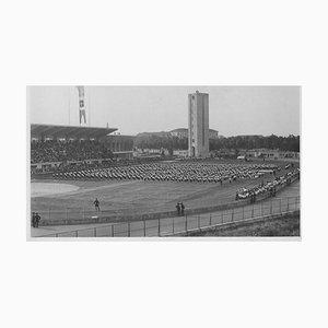 Unknown, Balilla Outdoor Exhibition, Vintage Black & White Photo, 1934