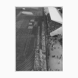 Unknown, Fascism in Italy, Onb, National Opera Balilla, Vintage Black & White Photo, 1934