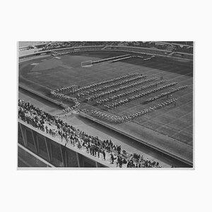 Sports Inconnu, Masculin Pendant La Période fasciste en Italie, Photo Vintage Noir & Blanc, 1934