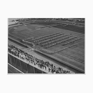 Unknown, Male Sports During Fascist Period in Italy, Vintage Black & White Photo, 1934