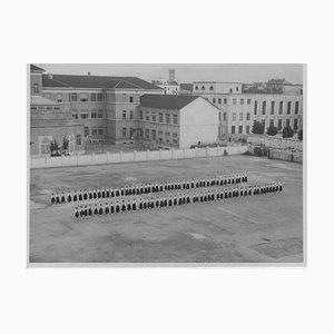 Unknown, Faschismus in Italien, Öffentliche Übung, Vintage Schwarzweißfoto, 1934