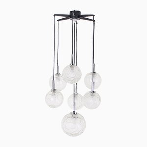 Waterfall Chandelier with 7 Sockets