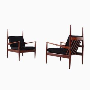 Scandinavian Style Armchairs, Set of 2