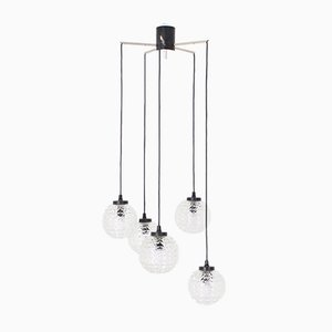 Waterfall Chandelier with 5 Sockets