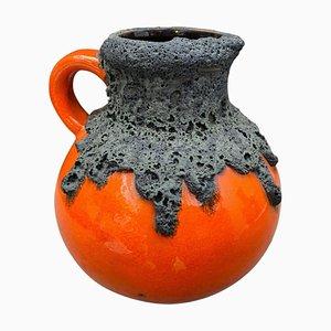Mid-Century Modern German Fat Lava Ceramic Jug or Vase from Roth Keramik, 1970s