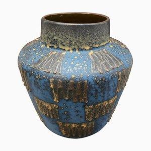 Deutsche Mid-Century Fat Lava Keramikvase von Carstens Tönnieshof, 1970er