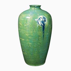 Antique Flaminian Art Nouveau Vase by Moorcroft for Liberty of London, 1910s