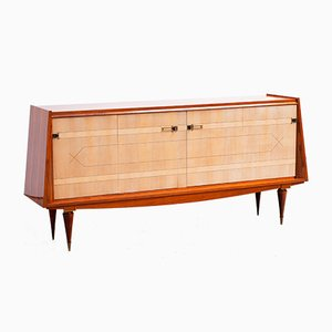 French Art Deco Macassar Sideboard, 1950s