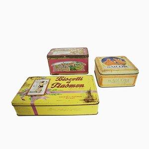 Biscuit Tins, 1960s, Set of 3