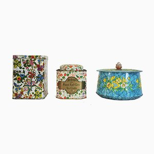 Mrs Bridges Biscuit and Tea Tins from Mudsond's Pantry, 1960s, Set of 3