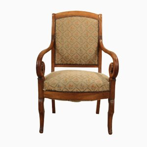 French Cherry Armchair, 1840s
