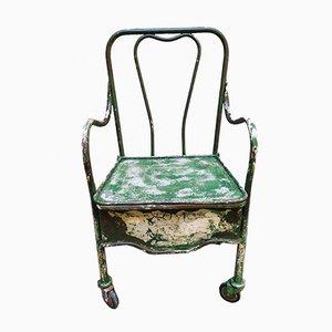 Armlehnstuhl aus Eisen