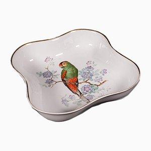 Scodella da frutta decorativa vintage in ceramica, Germania, inizio XX secolo