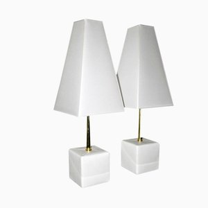 Esperia Edition Table Lamps by Angelo Brotto, 1980, Set of 2