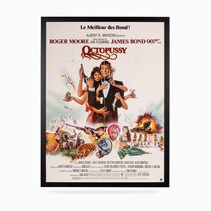 Póster de la película French Release original de James Bond: Octopussy, 1983