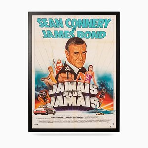 Póster francés de la película de James Bond: Never Say Never Again, 1983