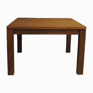 Teak Coffee Table with Drawer, 1960s