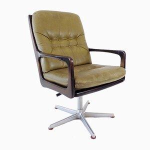 Leather Desk Chair by Eugen Schmidt for Soloform