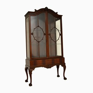 Antique Victorian Display Cabinet