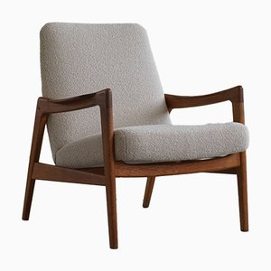Mid-Century Danish Easy Chair Attributed to Tove and Edvard Kindt-Larsen, 1960s