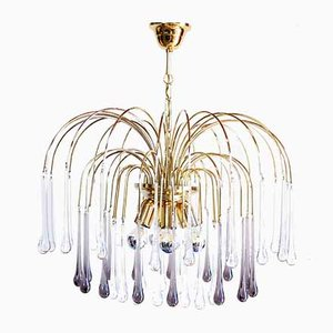 Drop Chandelier by Paolo Venini for Eurolux, 1960s