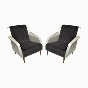 Mod. 802 Armchairs by Carlo De Carli for Cassina, Italy, 1954, Set of 2