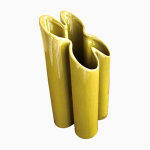Grüne Vase von Pierre Cardin, 1950er