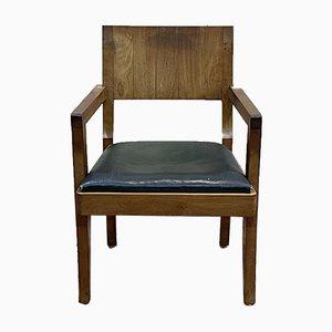 Bürostuhl aus Mahagoni, 1930er