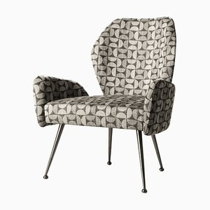 Euphoria Armchair with Pattern Fabric by Claudio Cappellini for Hessentia