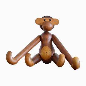 Danish Teak Monkey by Kay Bojesen, 1960s