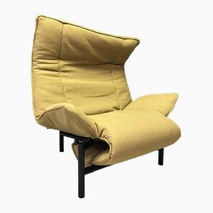 Chaise longue Veranda di Vico Magistretti per Cassina