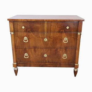Antique Walnut Chest of Drawers, 1800s