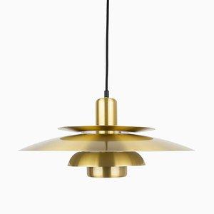 Vintage Danish Ceiling Lamp by Bent Nordsted for Lyskær Belysning
