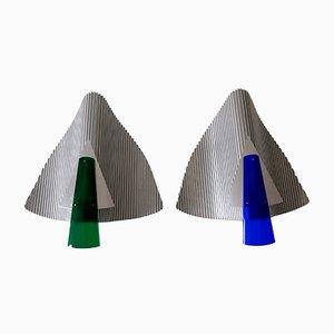 Trybeca Sconces by Ingo Maurer for Design M, Germany, Set of 2