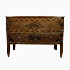 Louis XVI Carved Walnut Chest of Drawers