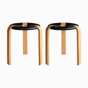 PALLAR Stools by Magnus Olesen, 1970s, Set of 2