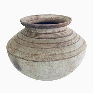 Handgefertigter Behälter aus Keramik, Ungarn, frühes 20. Jahrhundert