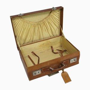 Vintage Leather Suitcase