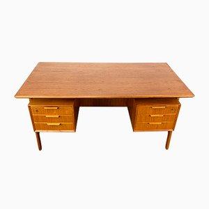 Teak Model 75 Desk from Omann Jun, 1960s