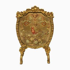 Parascintille grande Giorgio III in legno dorato