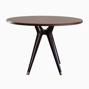 Runder italienischer Tisch von Osvaldo Borsani für Arredamenti Borsani, 1951