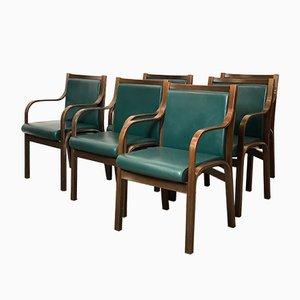 Italienische Cavour Esszimmerstühle von Frau, 1960er, 6er Set