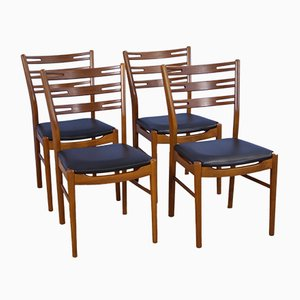 Danish Model 210 Dining Chairs in Teak from Farstrup Møbler, 1960s, Set of 4