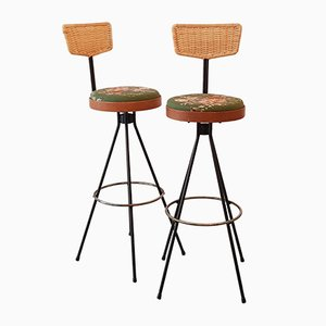 Bar Stools by Herta Maria Witzemann for Erwin Behr, Set of 2