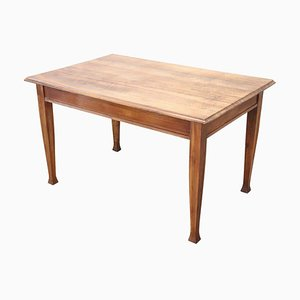 Art Nouveau Walnut Dining Table