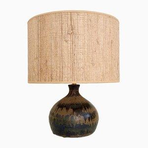Ceramic Table Lamp from La Borne, France, 1970s