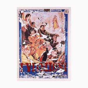 Mimmo Rotella: I Vitelloni, Fellini, Siebdruck und Collage